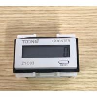 Bộ đếm counter 8 số ZYC03-8L có pin nuôi