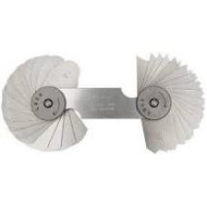 Bộ dưỡng đo bán kính Mitutoyo 186-106 (7.5-15mm/32 lá)