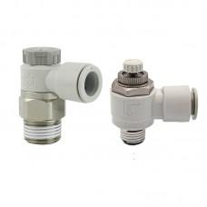Đầu nối khí có tiết lưu AS2201F-01-06SA