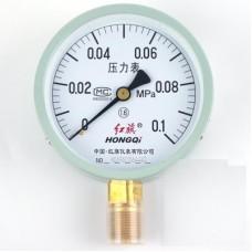 HONGQI Y-100 Pressure gauge 0 - 1Mpa