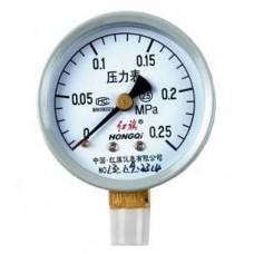 HONGQI Y-60 Pressure gauge 0 - 0.25 Mpa
