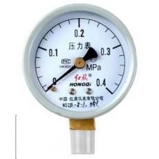 HONGQI Y-60 Pressure gauge 0 - 0.4 Mpa