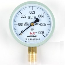 HONGQI Y-100 pressure gauge 0 - 0.6Mpa